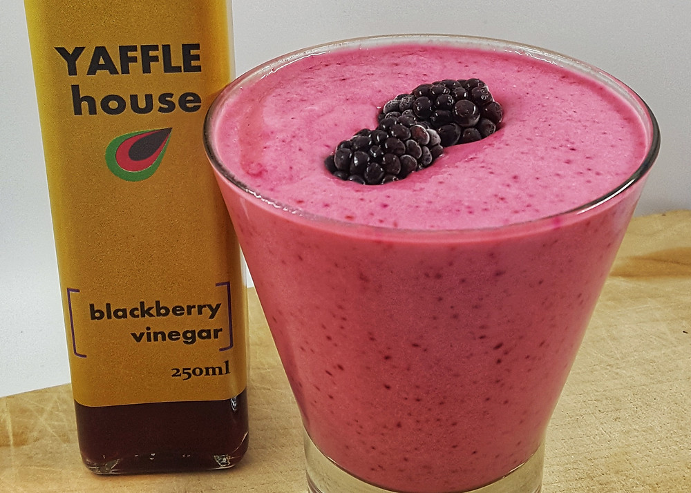 Beetroot Smoothie with Yaffle House Blackberry Vinegar