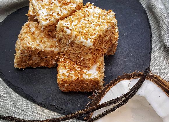 Coconut + Vanilla Marshmallows