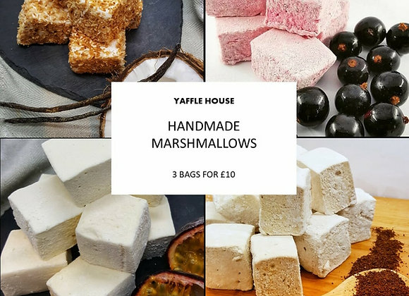 3 Bags of Marshmallows