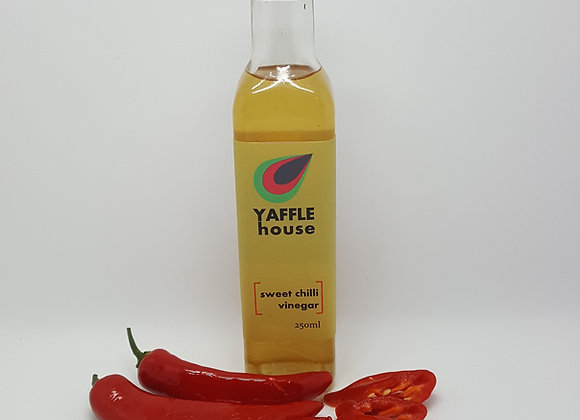 Sweet Chilli Vinegar, made from raw apple cider vinegar (ACV)