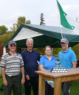 Les gagnants du 5e tournoi de golf 27 se