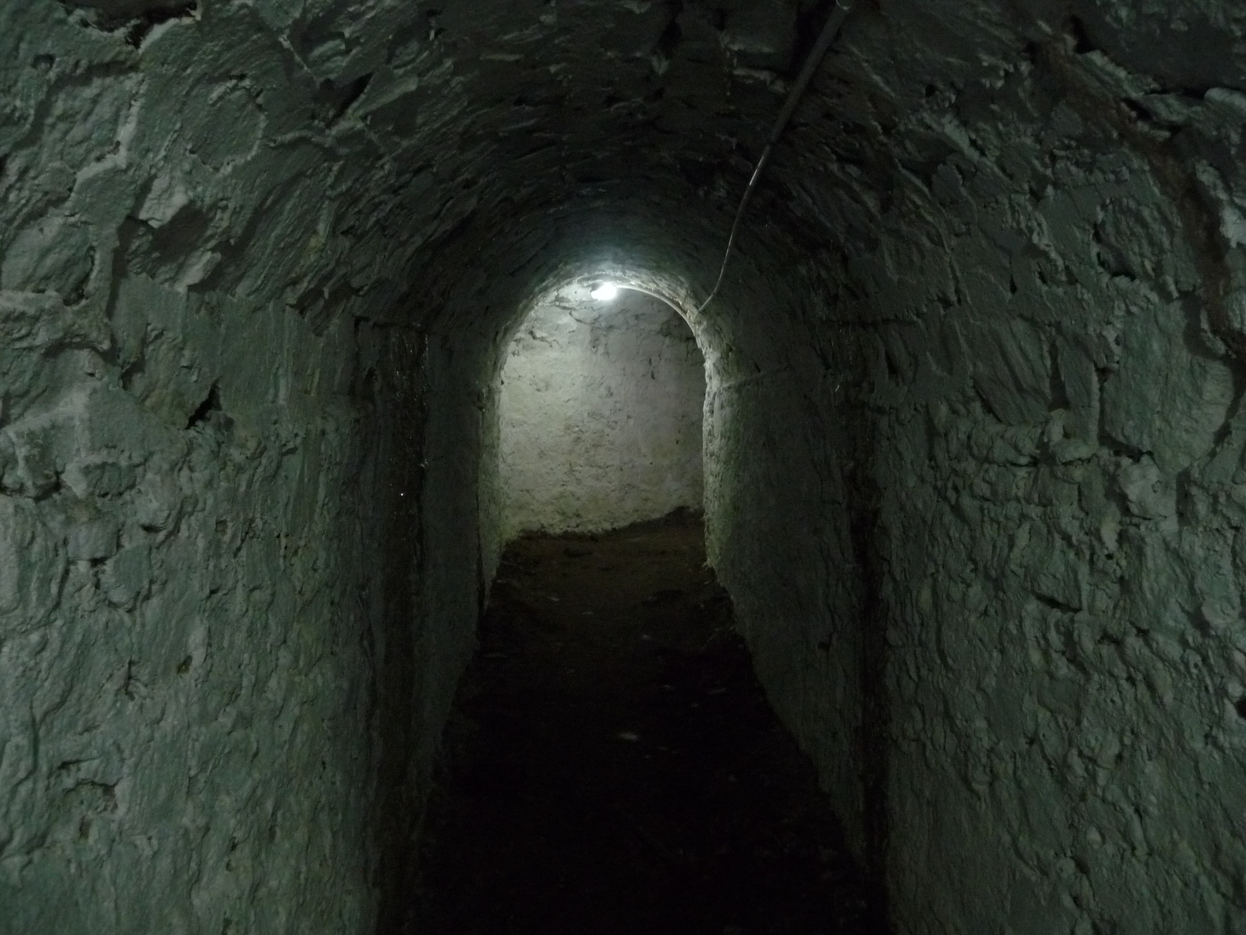 Tunnel at fort George Grenada
