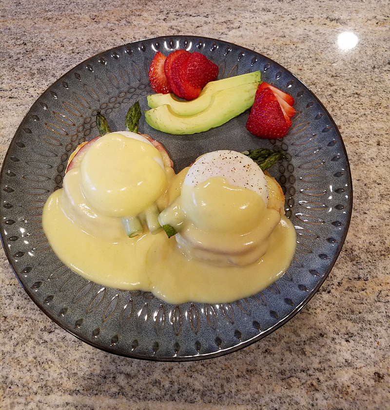 Honeymoon Eggs Benedict