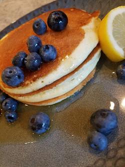 Lemon Ricotta Buttermilk Pancakes
