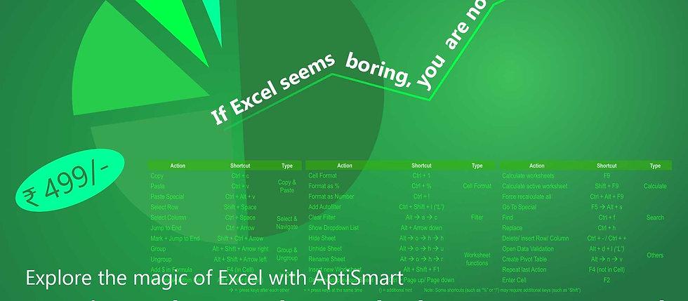 Project based workshop on Excel