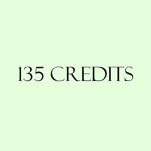 135 Credits