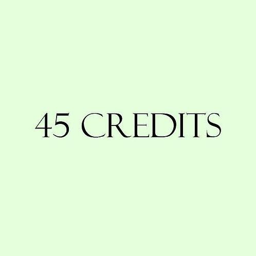 45 Credits