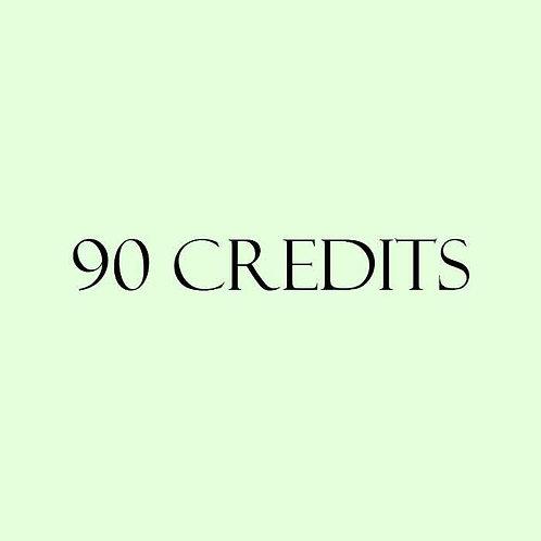90 Credits