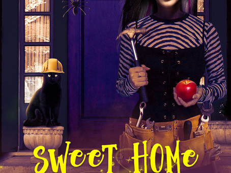 One week until release of Sweet Home Liliana (A Lily Sweet: Briar Witch Cozy Mystery 3)....