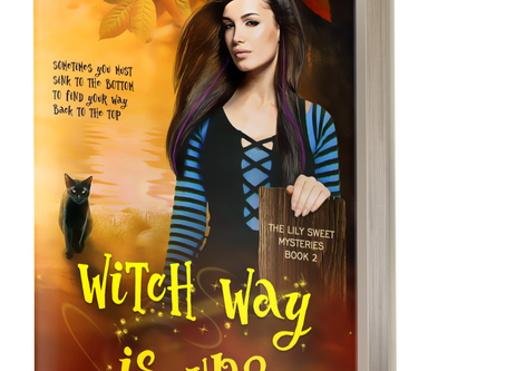 Witch Way Is Up? is moments away from release!