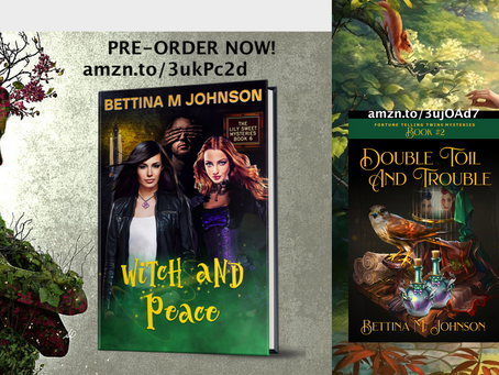 Two new releases for April! And that's no April Fool!