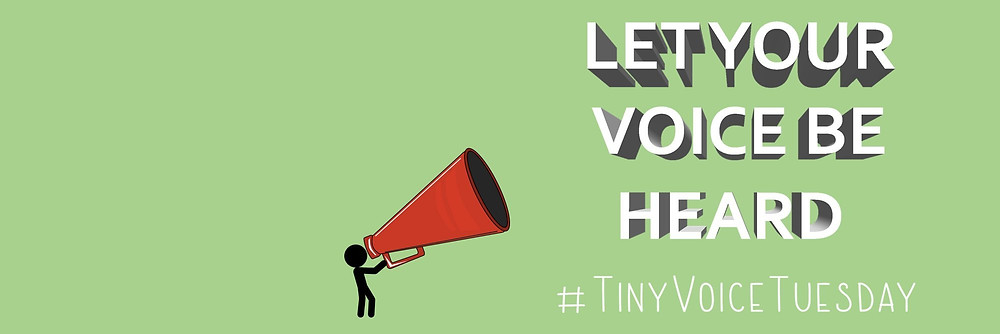 #TinyVoiceTuesday banner