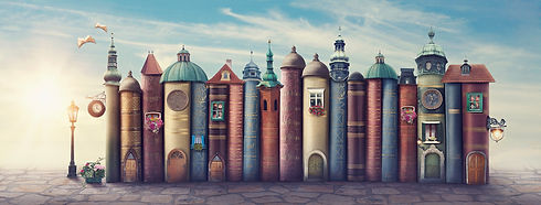 Magic city with old books.jpg