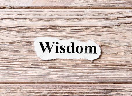 #DailyWritingChallenge: Wisdom