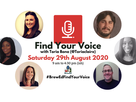 #BrewEdFindYourVoice – Post 3