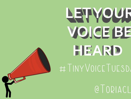 What is #TinyVoiceTuesday?