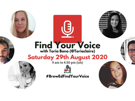#BrewEdFindYourVoice – Post 4