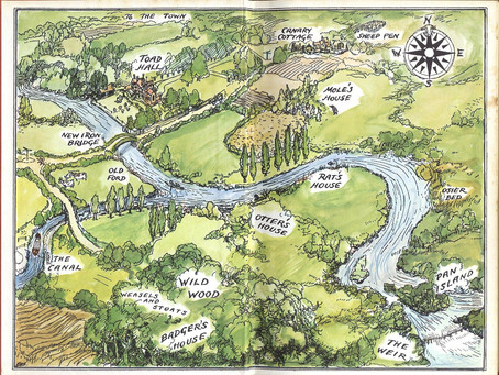 Journeys without Maps - the greatest story maps of all time.  Kind of.