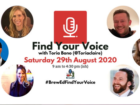 #BrewEdFindYourVoice – post 2