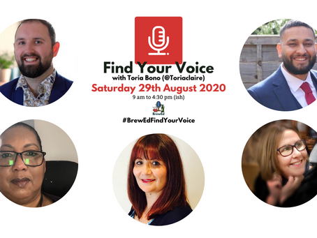 #BrewEdFindYourVoice – Post 5