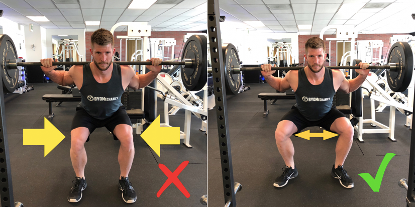 Knee Separation Squat