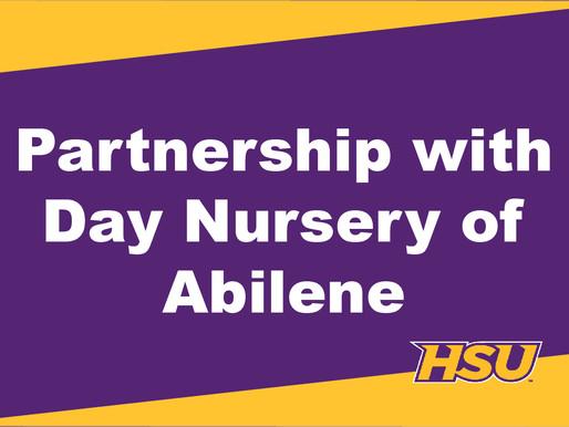 HSU and Hendrick Partner with Day Nursery of Abilene