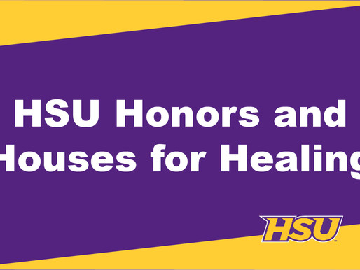 HSU Honors Program Partners with Houses for Healing