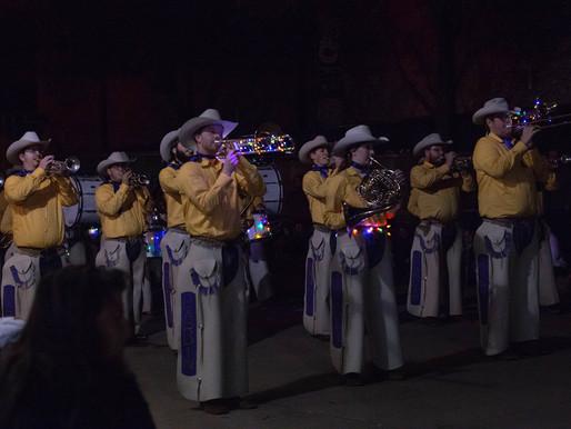 World Famous Cowboy Band Parades Across Texas