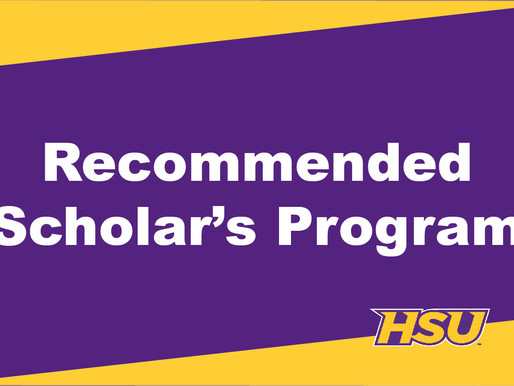 New Recommended Scholars Program Provides More Opportunities for HSU Applicants