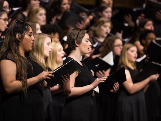 Choral Showcase to Take Place on Nov. 25th