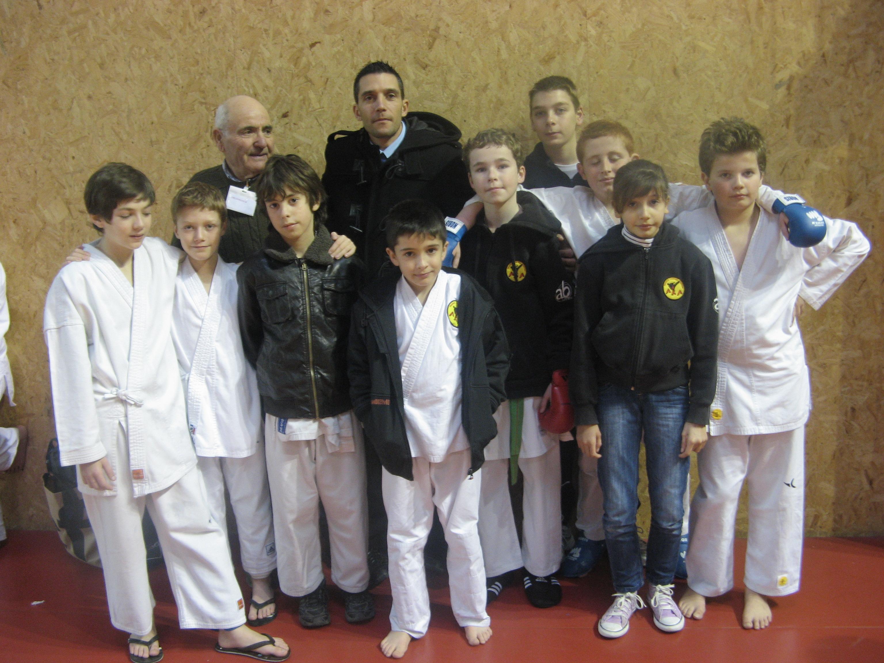 Coupe départementale kumite 2013