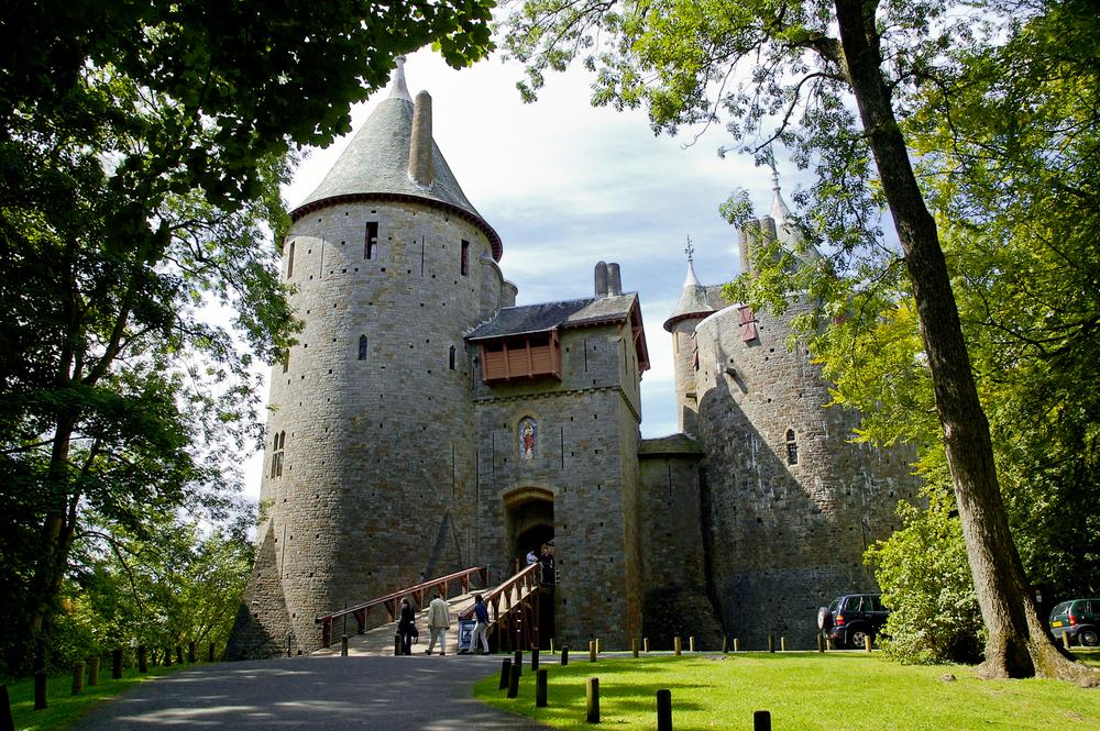 Castle Coch - The fairytail castle
