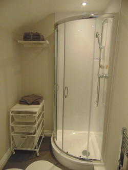 The Silver room En Suite with shower