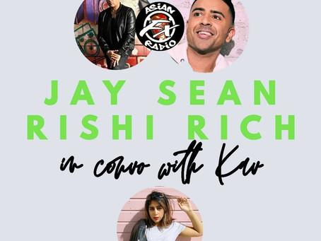 Kavita Chat's to Jay Sean and Rishi Rich