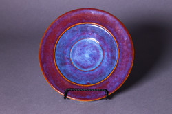 Red and Blue Plate