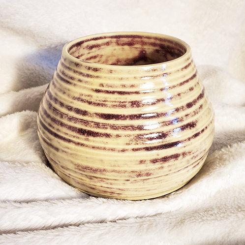 Marbled Purple Vase