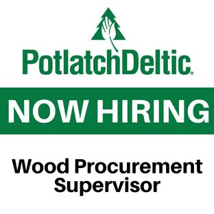 PotlatchDeltic Wood Procurement Supervisor