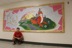 """AGWMS Mural"""