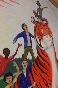 """""""AGWMS Mural"""" (detail)"""