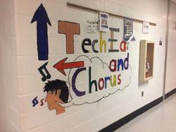 Tech Ed/Chorus hallway - 2015