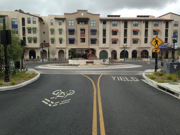 Paseo Santa Fe Streetscape, Vista, CA