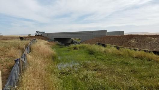Miller Dam Repair & Replace Laughlin Road Bridges Design-Build, Beale Air Force Base, CA