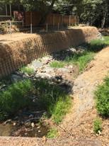 Brooktree Creek at Parkoaks Drive Emergency Creek Repair & Restoration