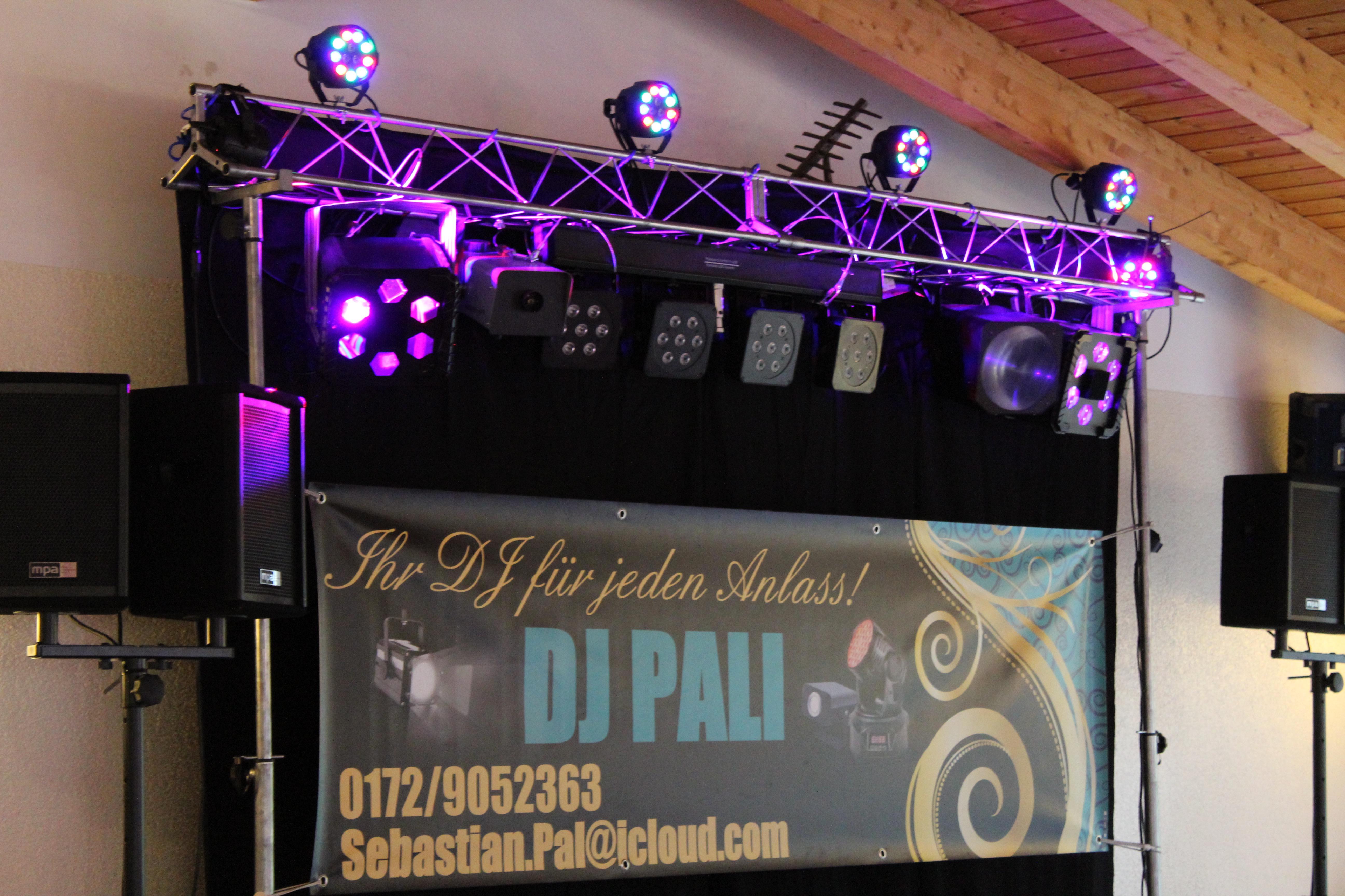 DJ Pali Technik Paket Hochzeit