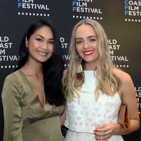 Christine Milo and Cleo Massey at the Gold Coast Film Festival