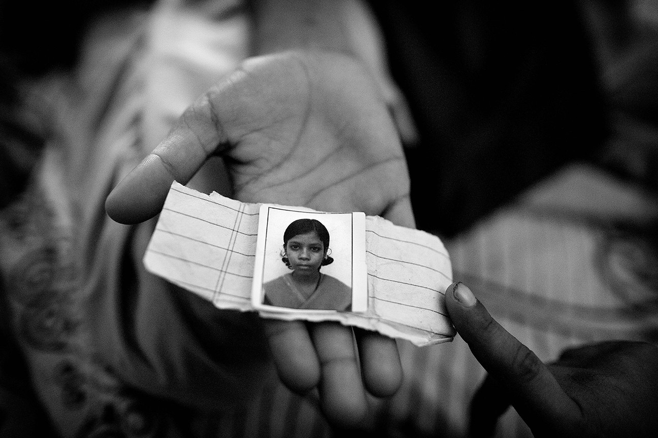 All the girls supported by Apne Aap are given photo Identification to show that she is a member of the group. This serves as protection when a trafficker accosts her because he immediately knows that Apne Aap staff will follow-up if she goes missing.
