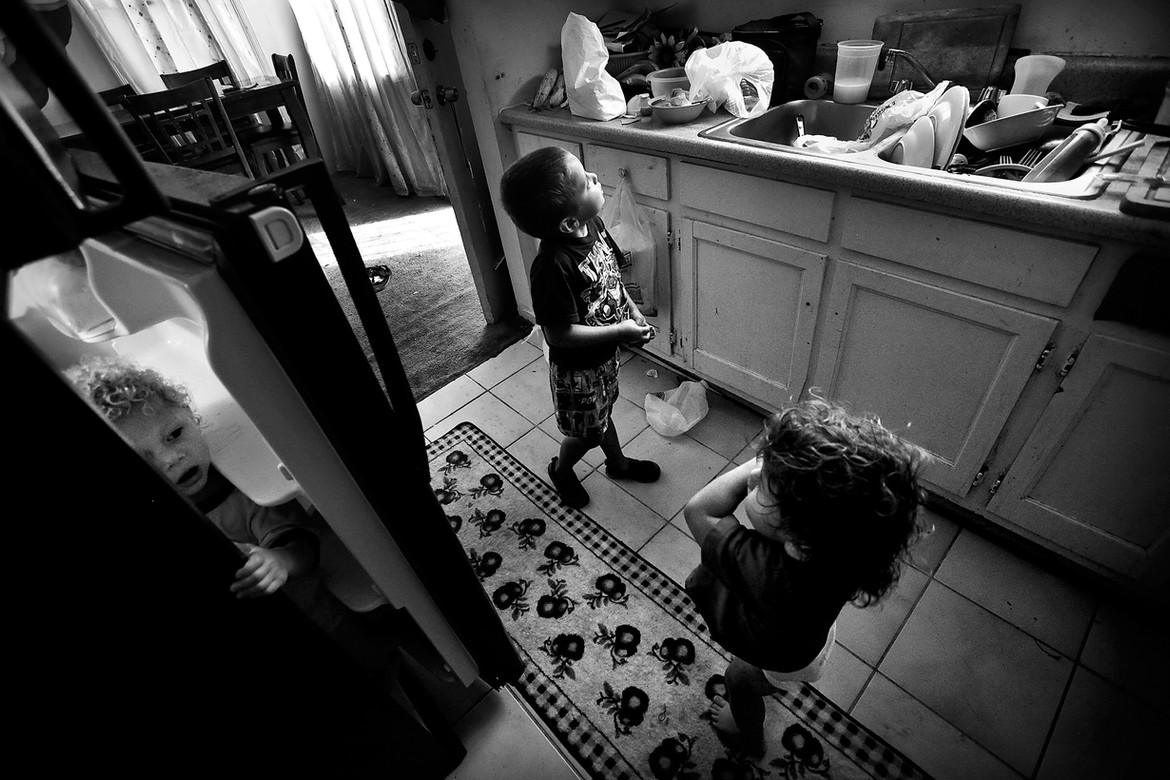 Six months after the shooting, Josue's father moved out, leaving his mother to balance Josue's increased needs with those of her other four children.