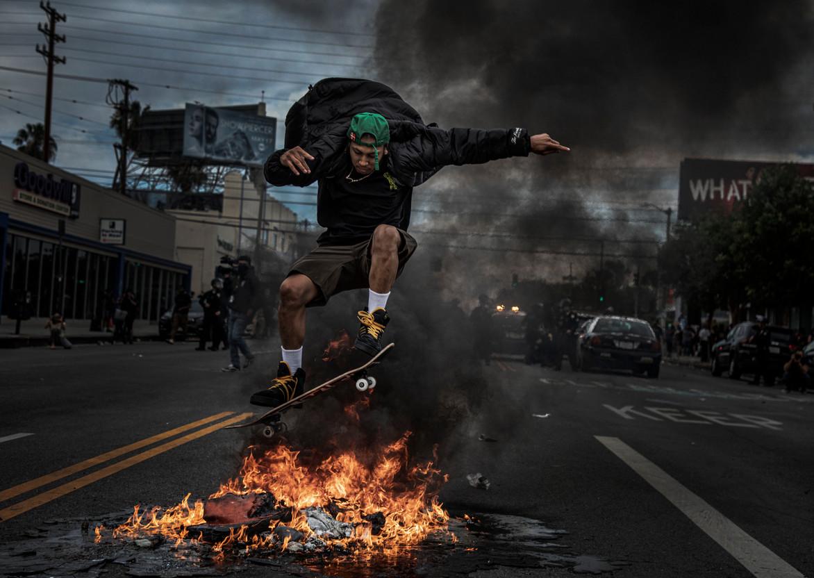 George Floyd Demonstrations: Los Angeles 2020