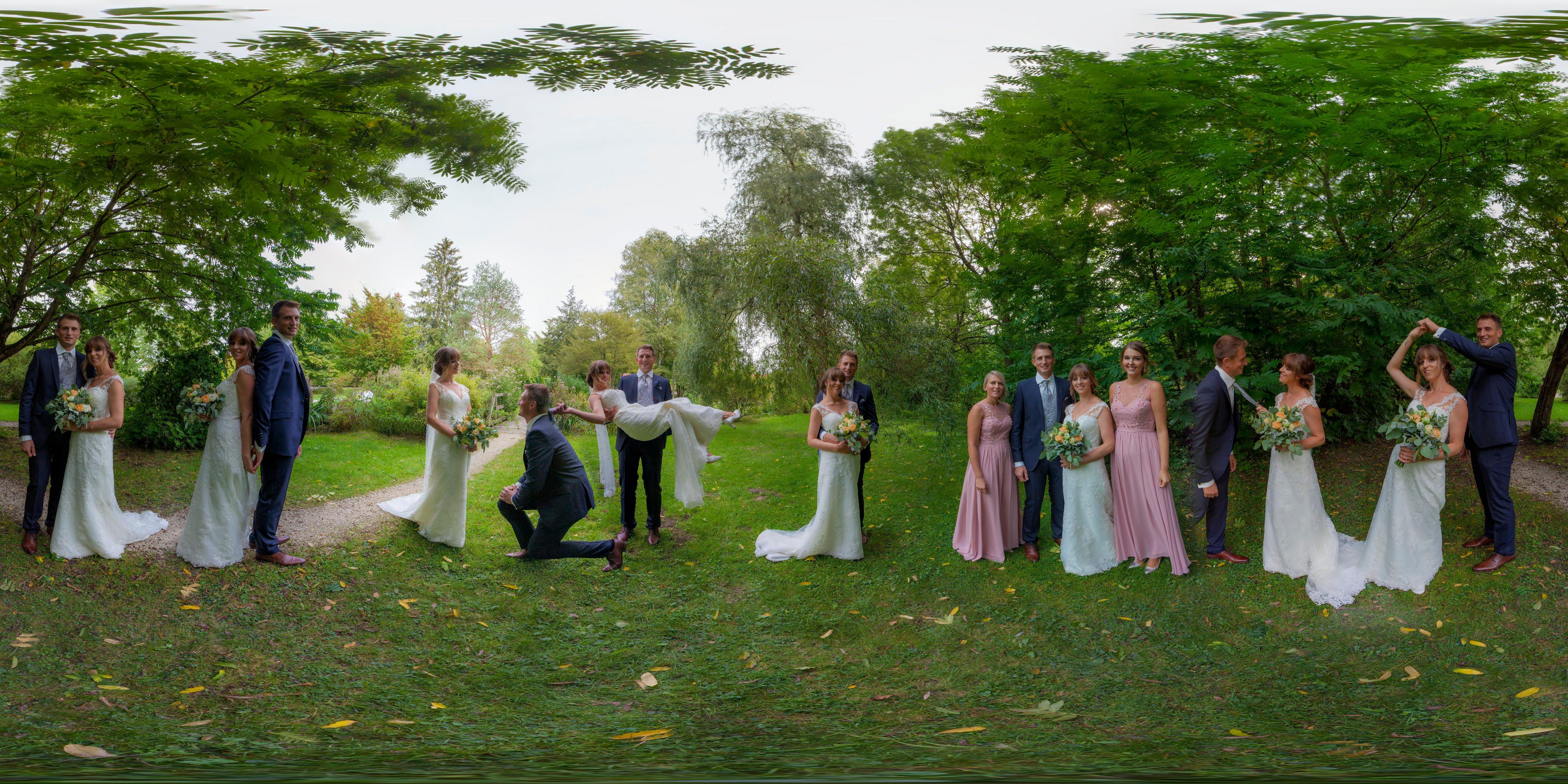 Hochzeitspanorama
