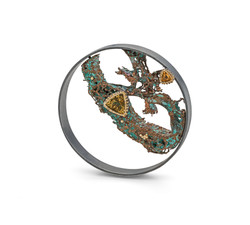 Entiwined brooch